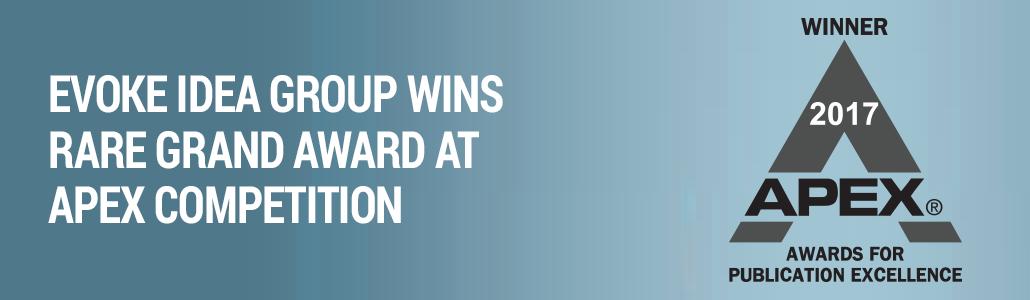 Evoke Idea Group Wins Top Print Design Award