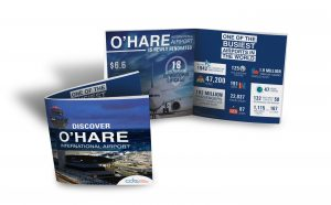 O'Hare Airport Brochure & Infographic