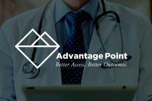 Advantage Point Logo Identity